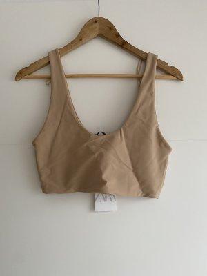 Zara top elastisch super fit L