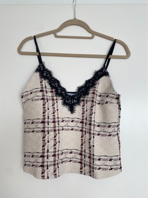 Zara Top con bretelline multicolore