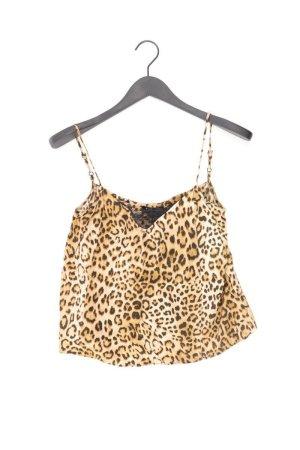 Zara Top Größe M mit Tierdruck braun
