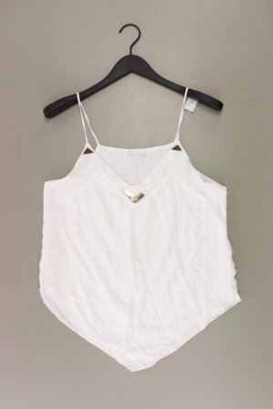 Zara Top blanco puro