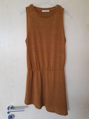Zara Trafaluc Long Top bronze-colored