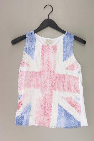 Zara Top Größe S weiß aus Baumwolle