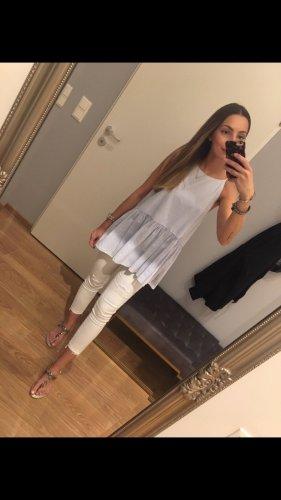 Zara Top Hellblau