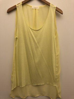 ZARA top in modischen Gelb