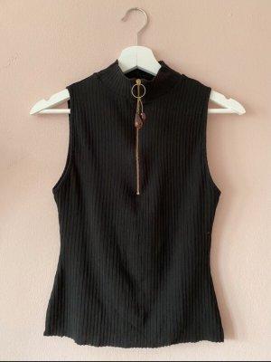 Zara Neckholder Top black