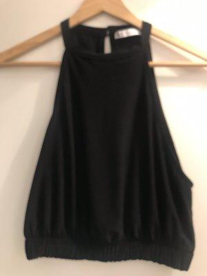 Zara Zijden top zwart