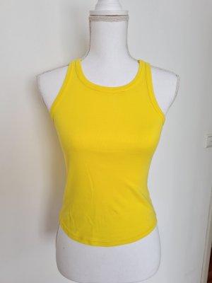 Zara Top Oberteil Gr. S in gelb