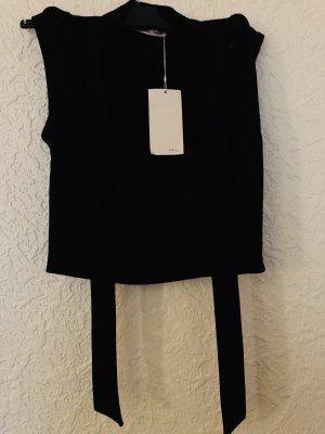 Zara top schwarz