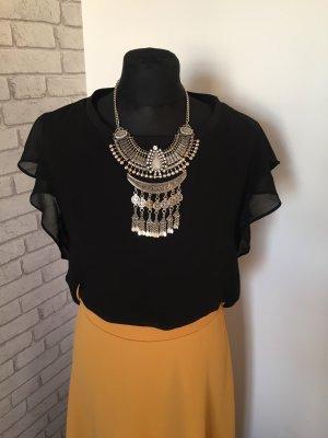 Zara Flounce Top black