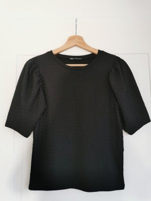 Zara Volanten top zwart
