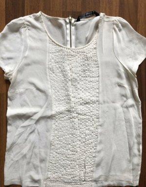 ZARA top shirt gr s 36 Weiss