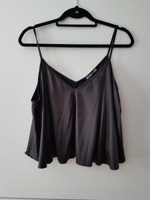 Zara Top Shirt Sommer Gr.L 40 schwarz