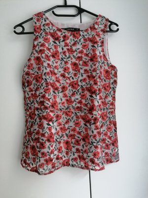 Zara Top Tunika XS 34 Sommer Shirt luftig business