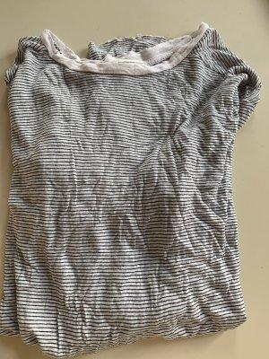 Zara Top Used Look a la Iro Streifen-Top Langarm S