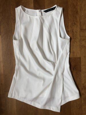 Zara Flounce Top white