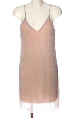 Zara Trägerkleid nude Elegant