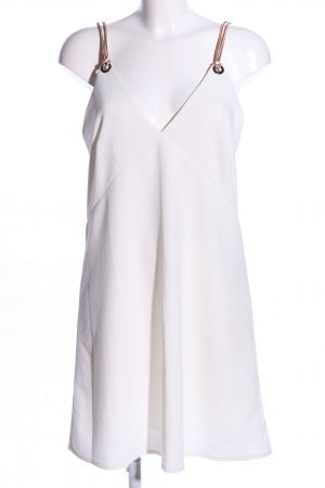 Zara Trägerkleid weiß Elegant