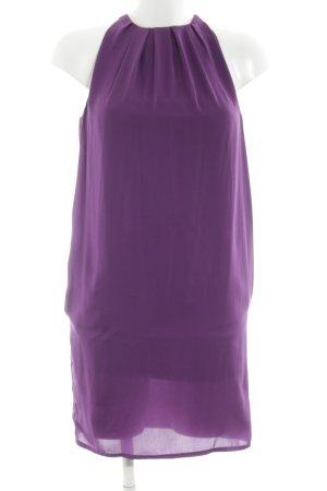 Zara Trägerkleid lila Elegant