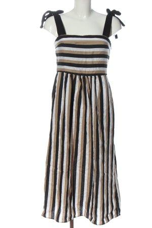 Zara Trägerkleid Streifenmuster Casual-Look