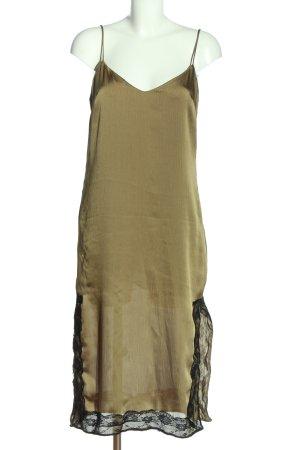 Zara Trägerkleid khaki Elegant