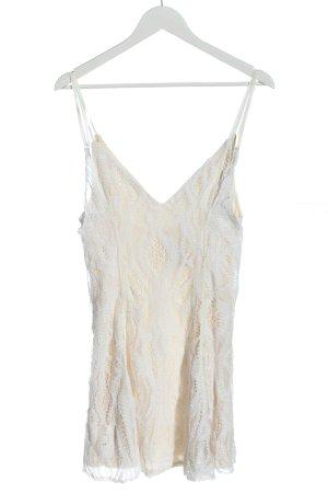 Zara Trägerkleid creme-weiß Elegant