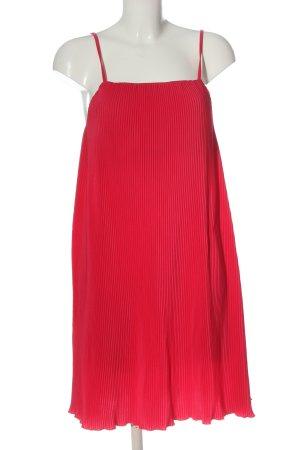 Zara Trägerkleid rot Casual-Look