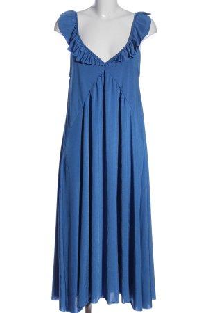 Zara Trägerkleid blau Elegant