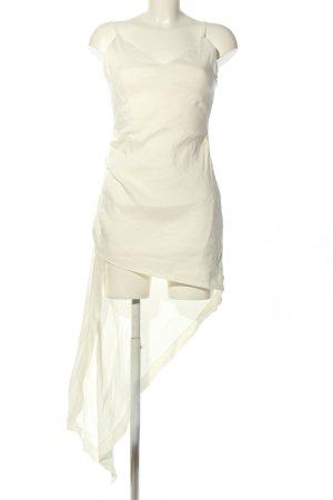 Zara Trägerkleid creme Casual-Look