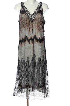 Zara Trägerkleid abstraktes Muster Elegant