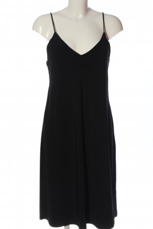 Zara Pinafore dress black casual look