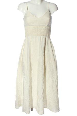 Zara Trägerkleid wollweiß Elegant