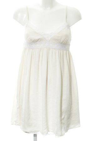 Zara Trägerkleid creme Romantik-Look