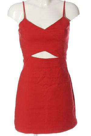 Zara Trägerkleid rot Elegant