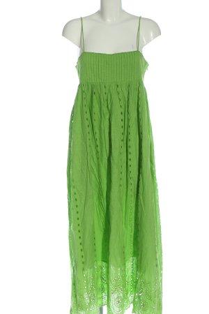 Zara Trägerkleid grün Casual-Look