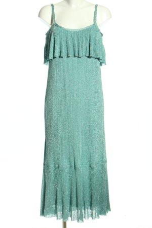 Zara Trägerkleid türkis Elegant