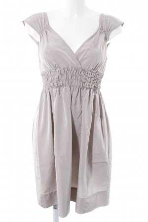 Zara Trägerkleid graubraun Elegant