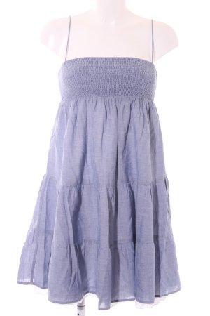 Zara Trägerkleid himmelblau meliert 2in1-Optik