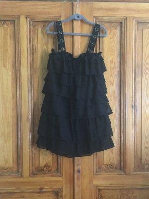 Zara Trägerkleid in schwarz, Gr. M