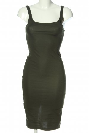 Zara Trägerkleid khaki Casual-Look