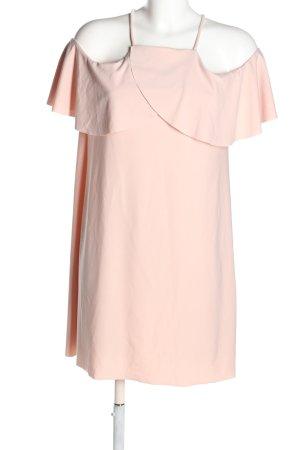 Zara Trägerkleid pink extravaganter Stil