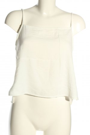 Zara Strappy Top white casual look