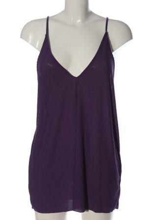 Zara Top na ramiączkach fiolet W stylu casual