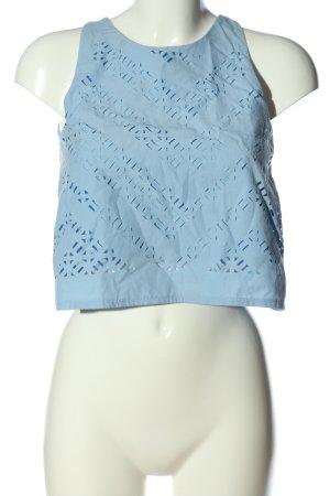 Zara Trägertop blau Casual-Look