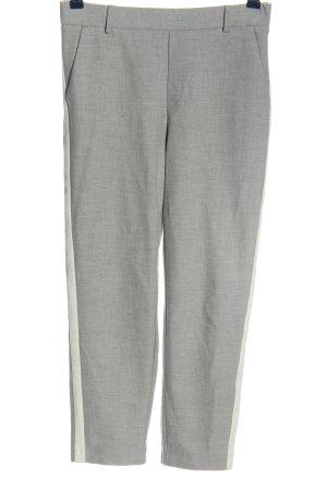 Zara Trafaluc Pantalone a 3/4 grigio chiaro-bianco modello web stile casual