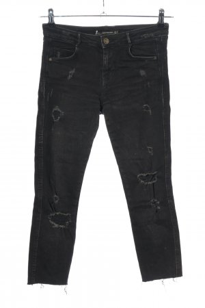 Zara Trafaluc 3/4 Length Jeans black casual look