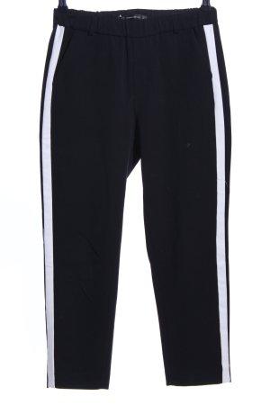 Zara Trafaluc 7/8-broek zwart casual uitstraling