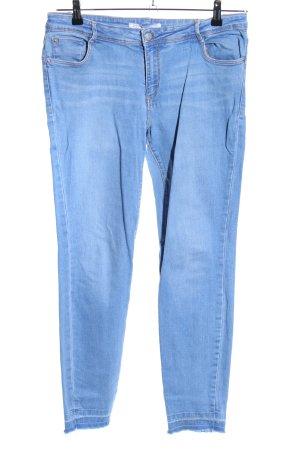 Zara Trafaluc 7/8-jeans blauw casual uitstraling