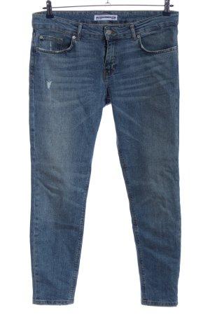 Zara Trafaluc 7/8 Jeans blau Casual-Look