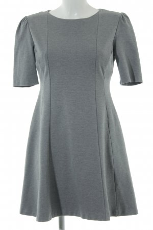 Zara Trafaluc A-Linien Kleid hellgrau Casual-Look