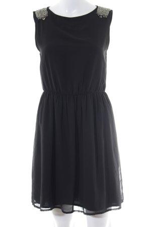 Zara Trafaluc A-Linien Kleid schwarz Elegant